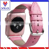 Crocodile Pattern Genuine Leather Watch Band For iWatch, For iWatch Leather Wrist Strap Band