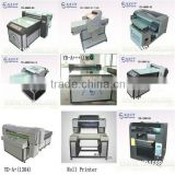 Digital flatbed CD/DVD cover printing machine with high definition, high quality for hot sale