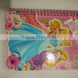 Spiral notebook/diary for sale wholesale promotion and retail