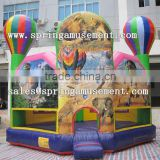 Top design Hot Air Balloon inflatable bouncer, inflatable jumping castle, inflatable bouncy SP-PP053