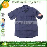 Dark blue 65/35% Poly/Cotton army combat officer Shirt