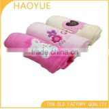 china wholesale extra soft colored 100% polyester fleece blanket baby swaddle blanketbaby swaddle blanket