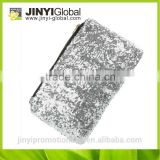 wholesale cosmetic bag for promotion/mini jelly glitter gold color jelly bag shiny glitter jelly bag