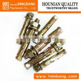 hot sale chemical anchor bolt/anchor bolt for concrete fixing /chemical anchor bolt made in china