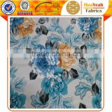 Wholesale soft felt for sofa bronzing on florals china blue velvet fabric