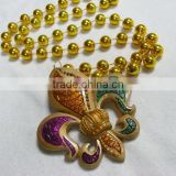 Mardi Gras Beads Wholesale Round Beads Plastic Party Necklace