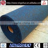 Trade Assurance anti-shock rubber floor mat rolls, fitness center flooring roll