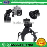 1017B# Bike camera holder Bicycle Frame Mount for Outdoor Action Easy Mount Bicycle Camera