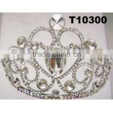 factory direct sale tall pageant crown wedding crown bride crown tiaras