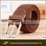 2014 braided elastic stretch belt