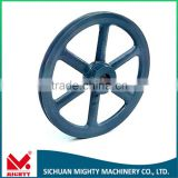 cast iron pulley wheel and wheel pulley