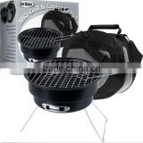 2 IN 1 CHILL & GRILL/ PORTABLE BBQ GRILL WITH COOLER BAG