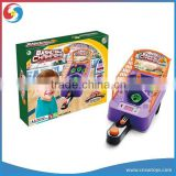 YX2804826 Kids mini light and musical electronic table basketball game