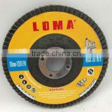 high quality abrasive zirconia metal flap disc 4inch