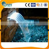 indoor water blade waterfall with led ligh and waterfall pumps                                                                         Quality Choice