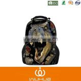 Yonger Designer Large 3D Dinosaur School Backpacks for Children Men Outdoor Tourism Bag Women Leopard Backbag
