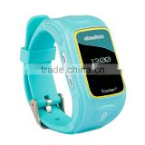 New 0.66 Inch Kids Wrist Watch Unlocked Cell Phone GPS Tracker Outdoor SOS Emergency Call Watch