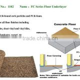PUR-foam & Cork Floor Underlayer