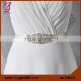 FUNG 800276 Wedding Accessory Bridal Crystal Beaded Belts For Wedding Dresses