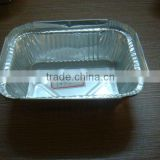 food packing container aluminium/tin foil disposable square box for biscuit/cake/cookies