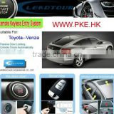 Remote Security Electronic Car Alarm System with PKE Keyless Push Button Start for Toyota Venza