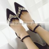 2016 Gorgeous sparkling dress shoes latest stiletto girls latest hot high heel sexy sandals