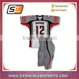 Stan caleb hot sale full sublimation American football uniforms American football team jersey