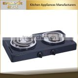 Commercial Cooker Stainless steel housing double portable electric stove cooker/ceramic hotplate