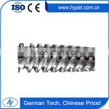 Kinds of design for Twin conic screw and barrel for plastic extrusion, Extruder screw and barrel
