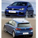Volfswagen Golf R20 body kit fit for VW Golf 6 GTI change to R20 style 10~13 PP material
