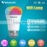 Vstarcam Wifi Remote Control 6W 20 million colors IOS Android APP wifi light bulb adapter