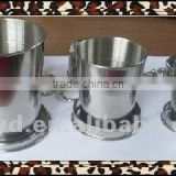 small stainless steel wine cup for gift sets