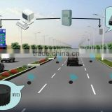 wireless vehicle detector for adaptive signal light controlling system replacing cctv system