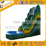Outdoor playground inflatable water slide A4029