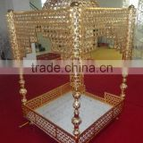 Hot sale traditional indian wedding mandap chair / wedding chairs for bride and groom sofa chair
