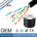 SIPU high speed waterproof utp cat5e outdoor cable best outdoor cat6 sftp lan cable wholesale ftp cat5e cable