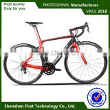 cheap carbon fiber road bike wheelset 700c clincher with solar led lighting