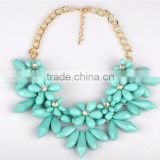 fashion new products metal handmade collar bead trim necklace collar for lady decoration China wholesal