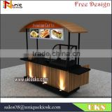 fashion mobile fast food carts for display /trailer,fry/pizza/corn cart for sale