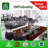 3033 made in China 2016 new furniture dark coffee color sex living room leather sofa set
