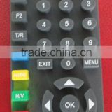 custom made silicone button rubber keypad Remote Controller Application remote control presson button for television
