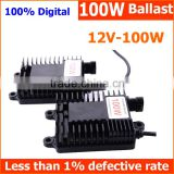 Factory supply best selling car accessories HID Ballast 100W for auto headlight driving light and work light