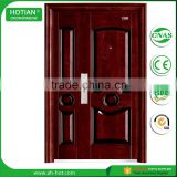 Commercial Steel Double Doors Office Security Door Lock Stainless Steel Grill Door Design
