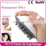 New beauty product hair scalp cleansing brush for bath