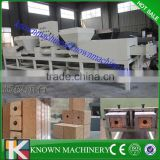Industrail wood shaving tray foot block machine,wood brick machine
