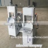 Factory direct supply portable 120pcs/h frozen goat meat thick roll cutting machine