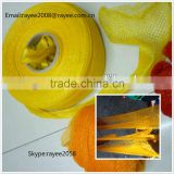 packaging tubular netting roll,packing garlic mesh bag, knitted ,malla de polietileno en rollos