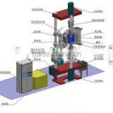 High temperature vacuum hot press furnace 2200C