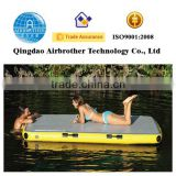 OEM Best Quality Inflatable Floating Water Mat Mattress Inflatable Water Floating Island