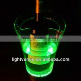 China made plastice rechargeable led bottle holder for champagne, martini, margarita...
